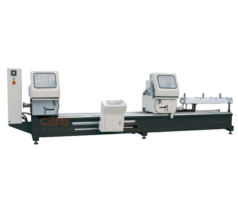 Double-head CNC automatic cutting saw for aluminum profile