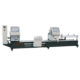 Double-head CNC automatic cutting saw for aluminum profile