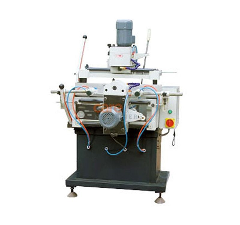Aluminum profile copy-routing milling machine