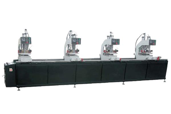 PVC window processing line