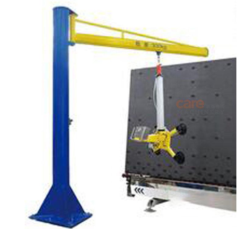 Pneumatic cantilever type glass lifter
